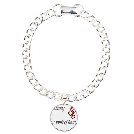 work of heart Charm Bracelet, One Charm