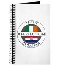 Irish Croatian flags Journal