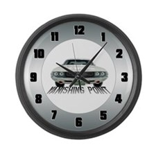 Vanishing Point Large Wall Clock