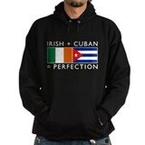 Irish Cuban heritage flags Hoodie