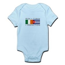 Irish Cuban heritage flags Infant Bodysuit