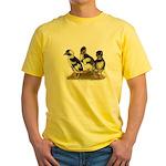 Emery Penciled Runner Ducklin Yellow T-Shirt