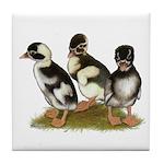 Emery Penciled Runner Ducklin Tile Coaster