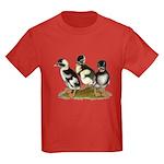 Emery Penciled Runner Ducklin Kids Dark T-Shirt