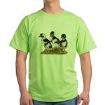 Emery Penciled Runner Ducklin Green T-Shirt