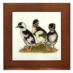 Emery Penciled Runner Ducklin Framed Tile