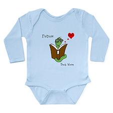 Future Bookworm Long Sleeve Infant Bodysuit