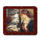 Cute Pre raphaelites Mousepad