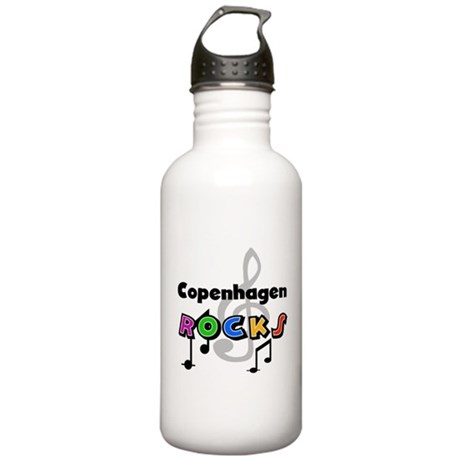 Copenhagen Rocks Stainless Water Bottle 1.0L
