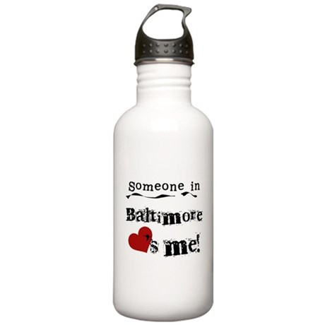 Baltimore Loves Me Stainless Water Bottle 1.0L