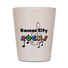 Kansas City Rocks Shot Glass