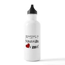 Nashville Loves Me Water Bottle