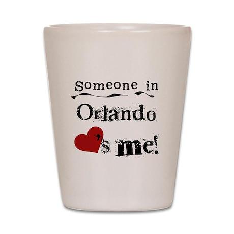 Orlando Loves Me Shot Glass