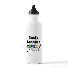 Santa Barbara Rocks Water Bottle