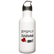 Someone in Arizona Water Bottle