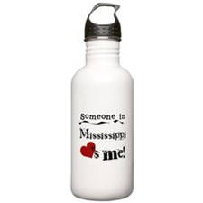 Someone in Mississippi Water Bottle