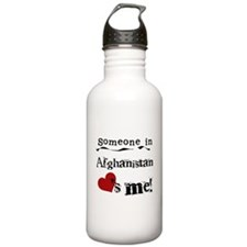 Afghanistan Loves Me Sports Water Bottle