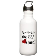 USA Loves Me Water Bottle