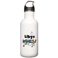 Libya Rocks Water Bottle