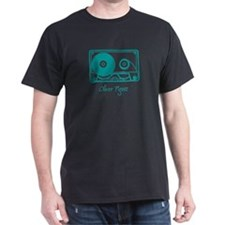 tape Black T-Shirt