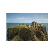 Dunnottar Castle, Scotland - Rectangle Magnet