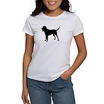Bloodhound Silhouette Women's T-Shirt