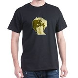Oliver Pigott Face Black T-Shirt
