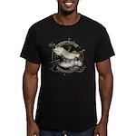 Fishing Legend Men's Fitted T-Shirt (dark)