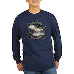 Fishing Legend Long Sleeve Dark T-Shirt