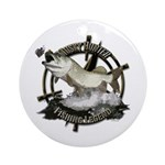 Fishing Legend Ornament (Round)