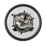 Fishing Legend Large Wall Clock