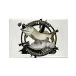 Fishing Legend Rectangle Magnet (10 pack)