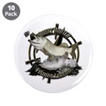 """Fishing Legend 3.5"""" Button (10 pack)"""