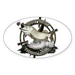 Fishing Legend Sticker (Oval)