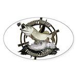 Fishing Legend Sticker (Oval 10 pk)