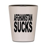 Afghanistan Sucks Shot Glass