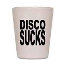 Disco Sucks Shot Glass