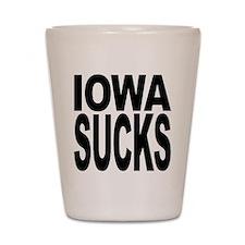 Iowa Sucks Shot Glass