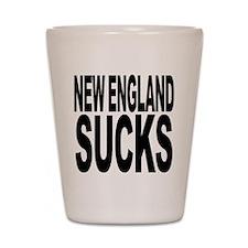 New England Sucks Shot Glass