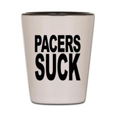 Pacers Suck Shot Glass