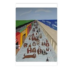 waddlin on the walk Postcards (Package of 8)