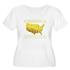 Cool America mexico border T-Shirt