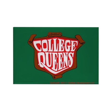 "Gottlieb® ""College Queens"" Rectangle Magnet"