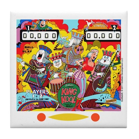 "Gottlieb® ""King Kool"" Tile Coaster"