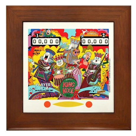 "Gottlieb® ""King Kool"" Framed Tile"
