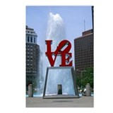 Love Park Postcards (Package of 8)