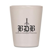 Bdb Dagger Logo Shot Glass