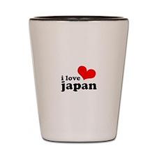 I Love Japan Shot Glass