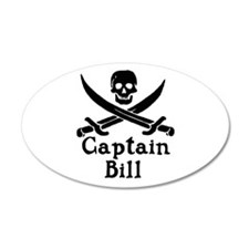 Captain Bill Wall Decal