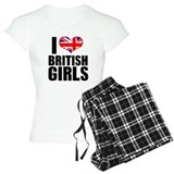 I Heart British Girls Pajamas